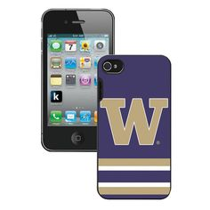 Iphone 4/4S Case Washington Huskies
