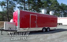 NEW 8 5 X 24 Enclosed Mobile Kitchen Tail Gate Food Vending Concession Trailer Concession Trailer, Food Trailer, Tailgate Food, Tailgating, Used Food Trucks, Tail Gate, Recreational Vehicles, Camper, Van