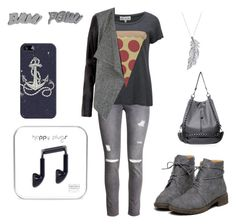 """""""Untitled #98"""" by nikasopkovicova2 on Polyvore featuring H&M, Wildfox, Casetify, Stone Paris and Edge Only"""