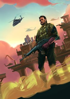 The phantom pain is the most expected game I ever had.What makes a hero into a demon? The punished Snake changes into Venom Snake.This Snake is no longer the Big Boss I ever known.He wants to...