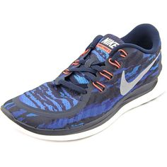 5d0187f86d10f Work out in style with these Nike Men s  Free 5.0 Print  Mesh Athletic Shoes