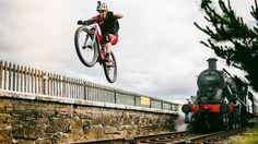 Wee Day Out, Danny MacAskill's Performs Wild Mountain Bike Stunts Around Edinburgh