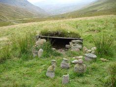 Ancient shrine in Scotland