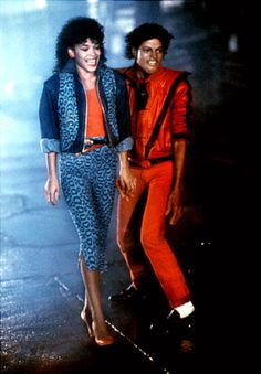 Michael Jackson and Ola Ray in Thriller The Jackson Five, Jackson Family, Janet Jackson, Jackson Life, Rick Astley, Michael Jackson Bad, Costume Halloween, Halloween Inspo, Halloween 2015