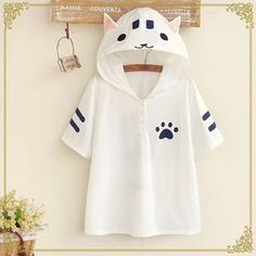 Buy Fairyland Hooded Cat Short-Sleeved T-Shirt at YesStyle.com.au! Quality products at remarkable prices. FREE SHIPPING to Austrailia on orders over AU$45.