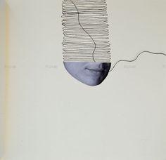 Autora. Obra realizada por Rosae Román. Perteneciente al libro La Flor del Cuerpo y el Tiempo II