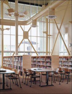 School Building Design, School Library Design, School Architecture, Interior Architecture, Interior Exterior, Interior Design, Building Aesthetic, American High School, School Hallways