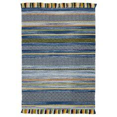 Found it at Wayfair.co.uk - Leiva Hand-Woven Blue Area Rug