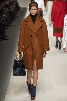 gorgeous coat - Fendi Fall 2015 RTW Runway – Vogue