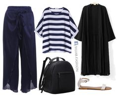 Navy Blue & Stripes - Outfit Ideas