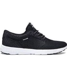 Supra Hammer Run S55025 Men Women Black - White Shoes Sneaker
