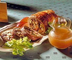 Apple-Stuffed Pork Roast