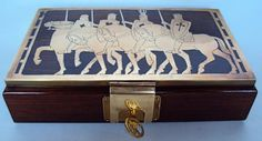 Outstanding RARE Erhard Söhne Sohne Games or Trinket Jewellery Box | eBay