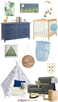 Southwestern Inspired Nursery Design Board Love All The Arrows Love That This Nursery Design Was Created Around New Just Swaddled Line