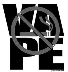 Vaping VAPE Tee sizes SXL by VapeTees on Etsy