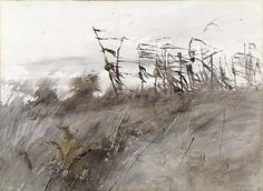 November First by Andrew Wyeth / American Art
