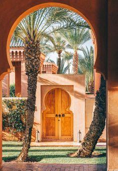 Amanjena Gallery - Explore Our Luxury Marrakech Resort - Aman Moroccan Design, Moroccan Decor, Moroccan Style, Islamic Architecture, Architecture Design, Morrocan Architecture, Building Architecture, Gothic Architecture, Moroccan Interiors