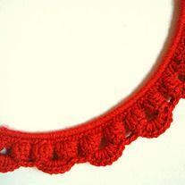Crochet frame. Beautiful!