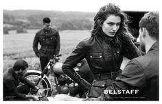 belstaff spring 2014 campaign2 Andreea Diaconu & David Beckham for Belstaff Spring 2014 Campaign by Peter Lindbergh
