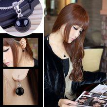 2015 moda de nueva venta caliente S925 joyería de plata esterlina del encanto establece grande ágata pendientes de aro de juegos para mujeres(China (Mainland))