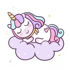 Vector de unicornio con cupcake | Descargar Vectores Premium