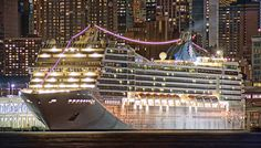 """MSC Poesia in New York - from Ship Mate user, """"NJ Photographer""""  -  Download the free cruise app here:  http://taps.io/KGxQ"""