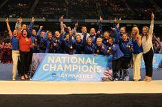 NCAA Champs again! Gator gymnasts share NCAA Super Six team title with Oklahoma
