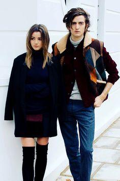   Eleanor Calder & Max Hurd  