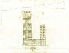 Gallery of richard meier unveils 180 meter tower development in gallery of richard meier unveils 180 meter tower development in mexico 10 sciox Images