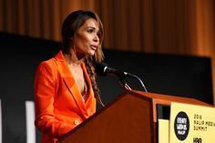 Daniella Alonso Photos Photos - Actress Daniella Alonso speaks onstage during the NALIP 2016 Latino Media Awards at Dolby Theatre on June 25, 2016 in Hollywood, California. - NALIP 2016 Latino Media Awards