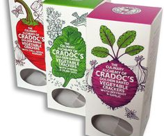 Cradoc's oh-so-beautiful cracker cartons (the crackers are good too) Biscuits Packaging, Food Packaging, Packaging Design, Fruit Illustration, Botanical Illustration, Plant Projects, Baked Vegetables, Edible Plants