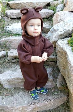 Bear Costume for Toddler/Child by SeamsSewGood on Etsy, $55.00