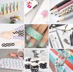 Things that can make with washi tape
