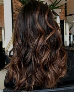 Chocolate and Caramel Balayage Hair Hair 60 Chocolate Brown Hair Color Ideas for Brunettes Long Brown Hair, Light Brown Hair, Brown Hair Fall 2018, Hair For Fall 2018, Hair Colors For Summer, Brown Hair Tips, Black Brown Hair, Brown Curls, Burgundy Hair