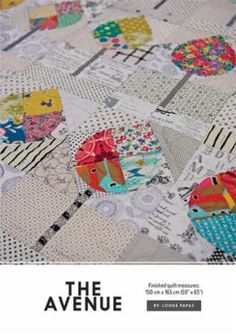 The Avenue Quilt Pattern by Jen Kingwell Designs by shopinthemaking on Etsy https://www.etsy.com/listing/503266523/the-avenue-quilt-pattern-by-jen-kingwell