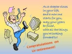 retirement messages for coworkers At Work Retirement Cards, Free At Work Retirement eCards, Greeting . Retirement Wishes Quotes, Retirement Quotes Inspirational, Retirement Messages, Congratulations On Your Retirement, Congratulations Quotes, Retirement Cards, Retirement Parties, Funny Retirement Sayings, Retirement Sentiments