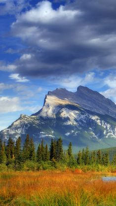Banff National Park In The Sky #iPhone #5s #wallpaper