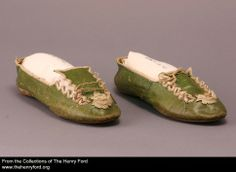 Women's Slippers, ca.1810 2001.0.113.107 The Henry Ford