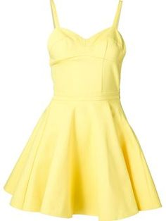 fit and flare dress £434 #Farfetch womensfashion #Jeremy-Scott