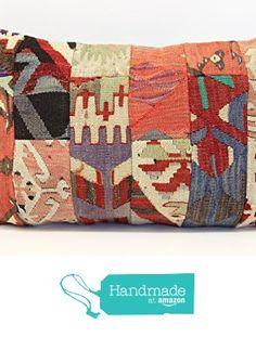 Patchwork kilim pillow cover 16x24 inch (40x60 cm) Tribal Lumbar Kilim pillow cover Home Decor Anatolian Pillow cover Kilim Cushion Cover from Kilimwarehouse http://www.amazon.com/dp/B01CEDC2ZQ/ref=hnd_sw_r_pi_dp_PYG1wb058HET7 #handmadeatamazon