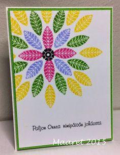 Nimipäiväonnittelut, Papertrey Ink - Mighty Oak