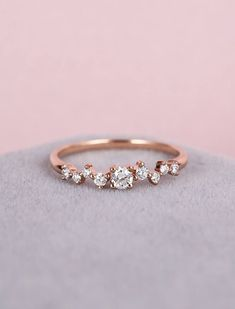 Diamond Cluster ring Twig engagement Ring Rose Gold Mini Floral Unique Wedding Women Bridal s&; Diamond Cluster ring Twig engagement Ring Rose Gold Mini Floral Unique Wedding Women Bridal s&; Engagement Ring Rose Gold, Wedding Rings Rose Gold, Rose Gold Promise Ring, Rose Gold Rings, Indian Wedding Rings, Silver Rings, Rose Gold Diamond Ring, Solitaire Engagement, Diamond Studs