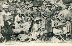 Martinique - Fort de France - Les charbonnieres de la Compagnie Transatlantique