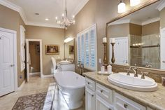 16452 Stonecrest Dr Conroe, TX 77302: Photo Another amazing view of the master bath suite.