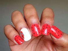 Le nail art fruité so easy avec de la fimo!