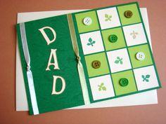 Lin Handmade Greetings Card: Dad...