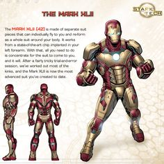 Iron Man's Hall of Armor: Mark XLII