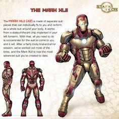 Iron Man's Hall of Armor: Mark XLII