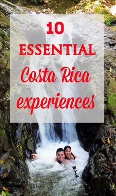 10 essential experiences in Costa Rica that captures the essence of the country. Don't miss out on these must-dos! mytanfeet.com/...