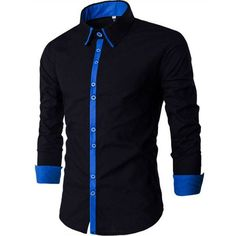 Cheap chemise homme Buy Quality slim fit dress shirt directly from China fit dress shirts Suppliers: New Men Shirt Chemise Homme 2016 Band Patchwork Slim Fit Dress Shirts Casual Long Sleeve Shirt Men Camisa Masculina M-XXL Slim Fit Dress Shirts, Slim Fit Dresses, Fitted Dress Shirts, Shirt Dress, Black Combat Trousers, Green Jeans Outfit, African Men Fashion, Mens Fashion, Casual Shirts For Men